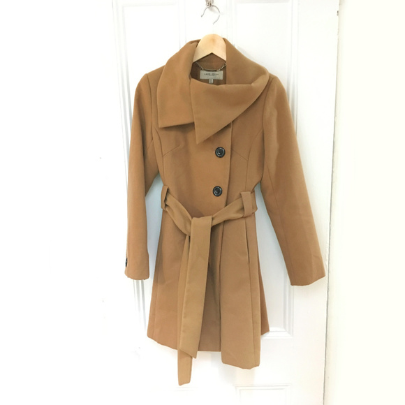 100% quality fashion style premium selection Karen Millen England Wool Coat - Camel